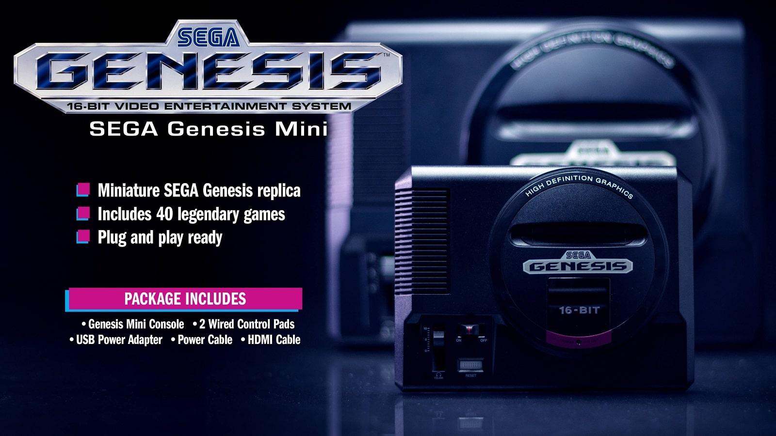 sega genesis mini main image