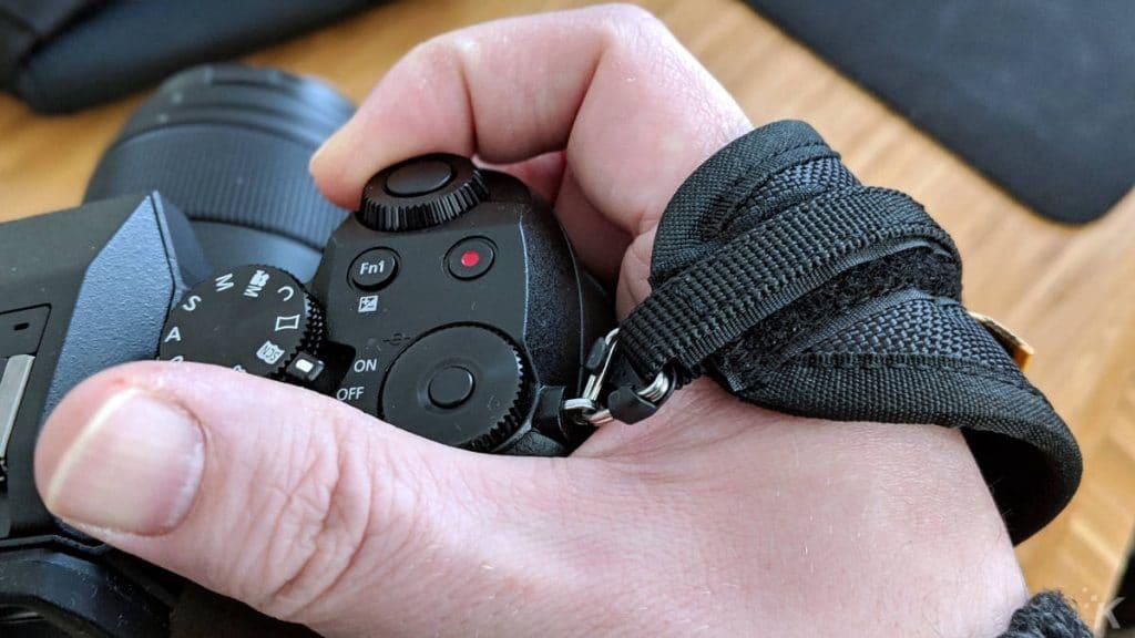 skout cotton carrier camera sling