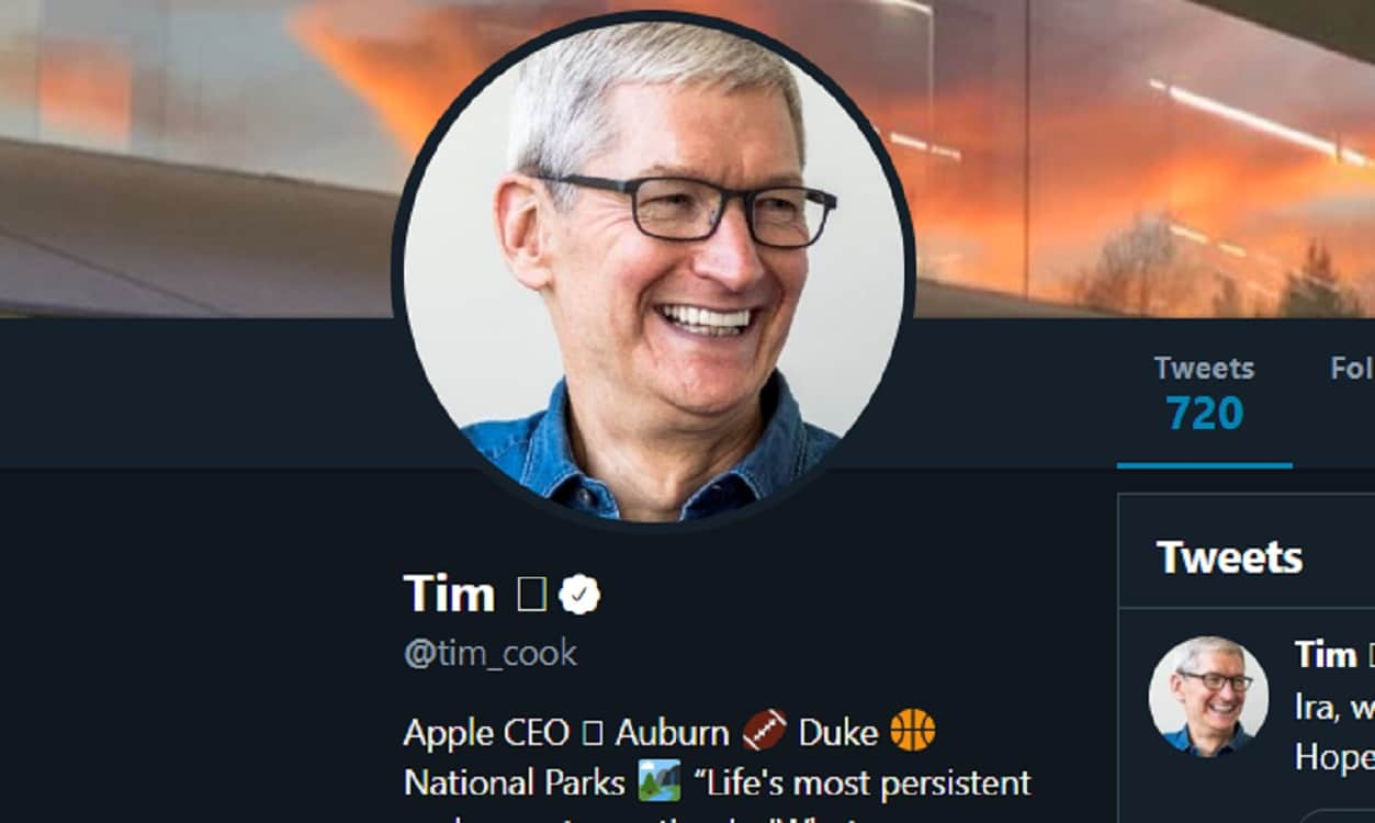 tim cook on twitter is now tim box
