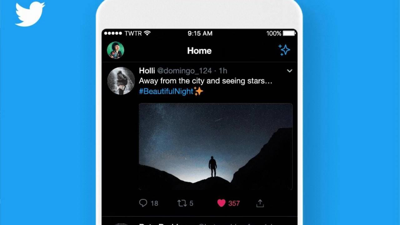 twitter lights out mode