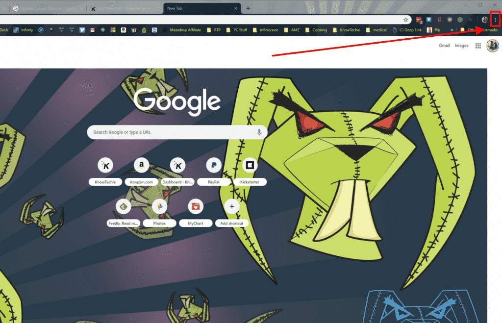 how to update google chrome on desktop