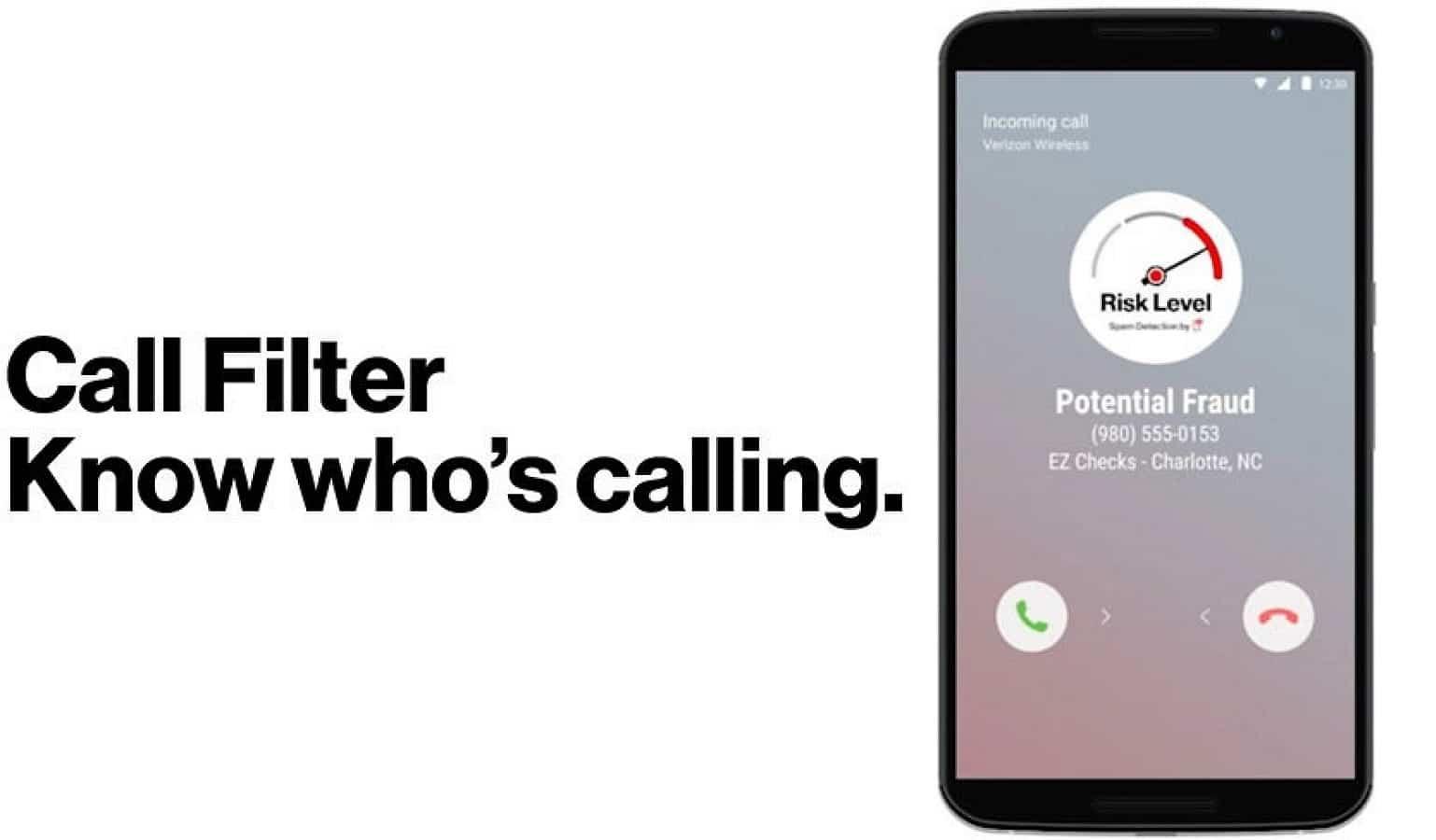verizon call filter app