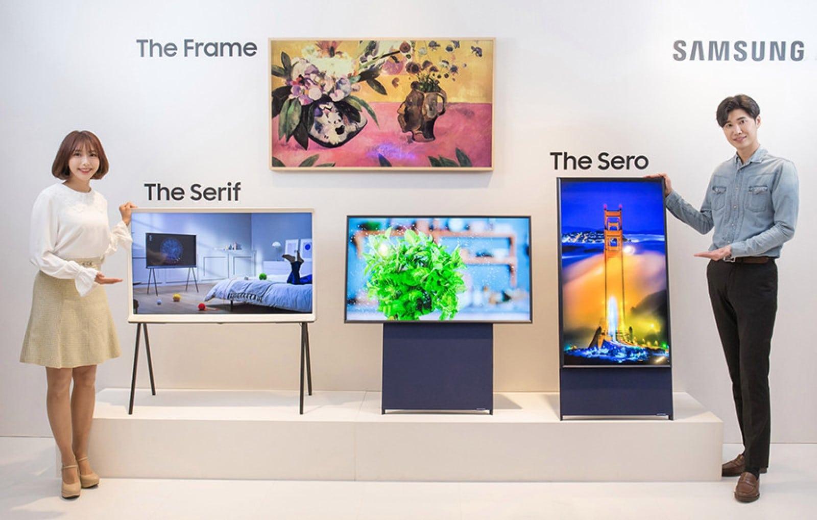 samsung sero portrait mode tv