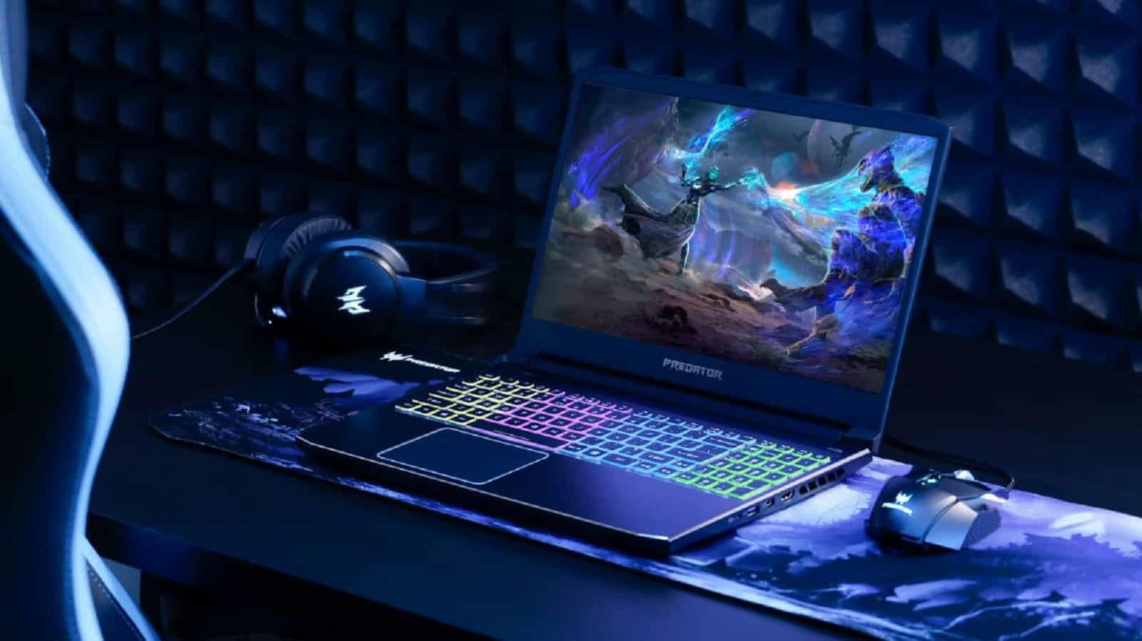 acer event showing off new gaming stuff