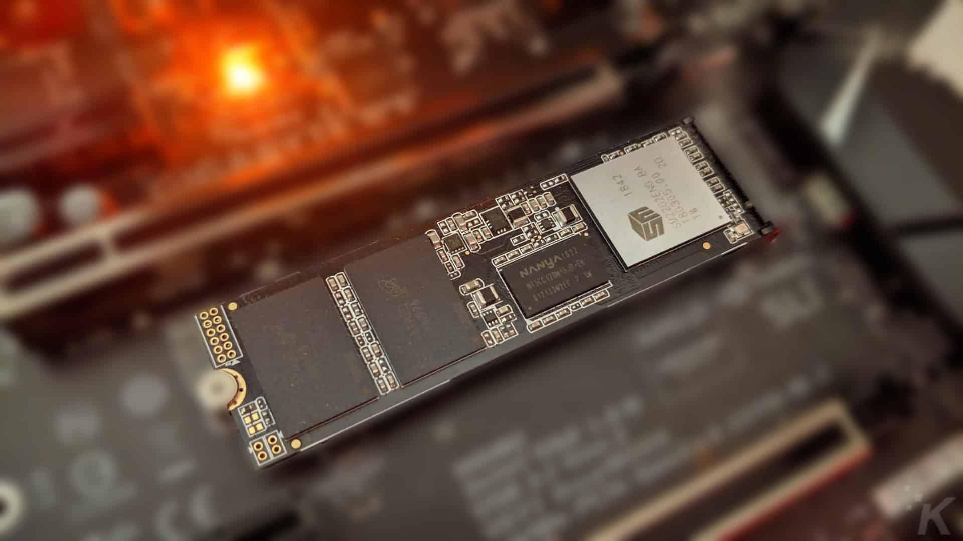 Review: Adata XPG SX8200 Pro 512GB NVMe SSD