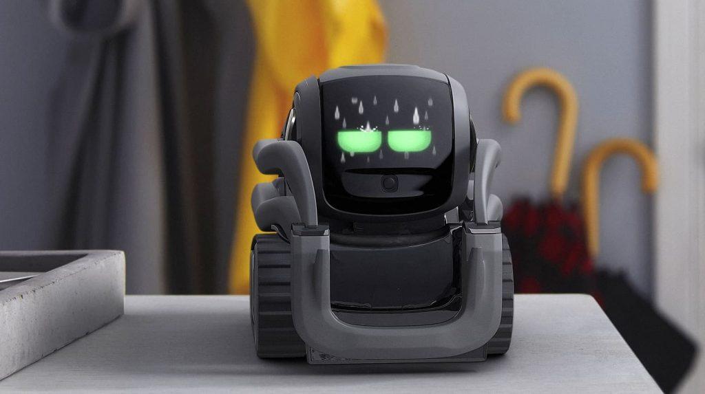 anki vector ai robot on table