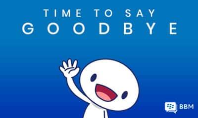 blackberry messenger shut down
