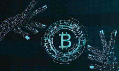 digital bitcoin image