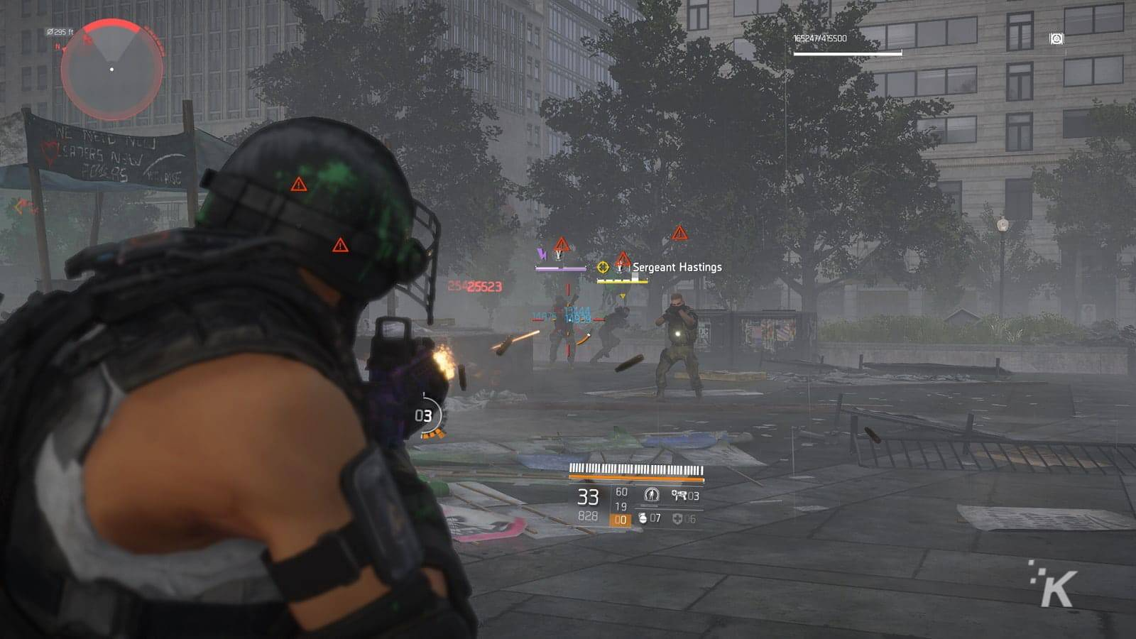 division 2 firefight