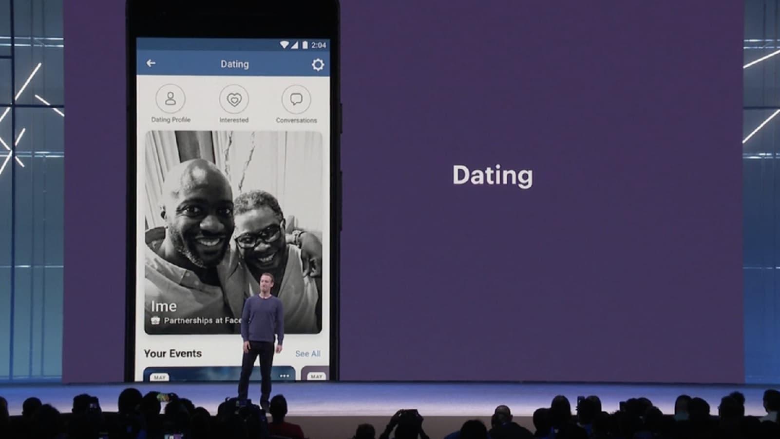 facebook dating secret crush with mark zuckerberg on stage