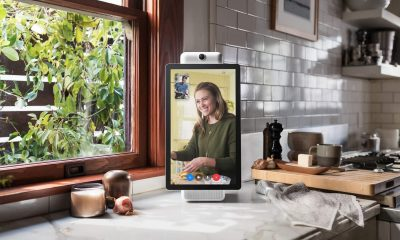 facebook portal device on table