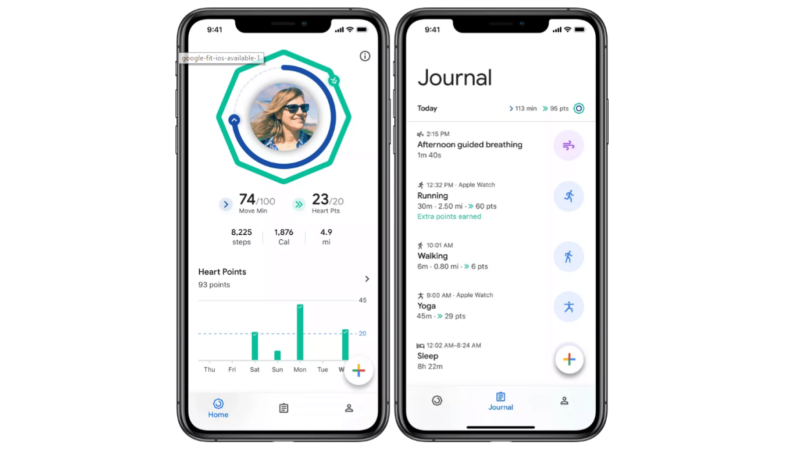 google fit on ios