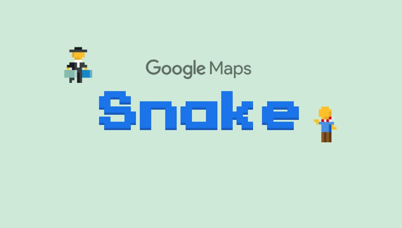 google maps snake game on april fools day