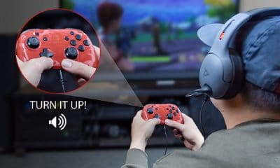 nintendo switch controller with voice chat