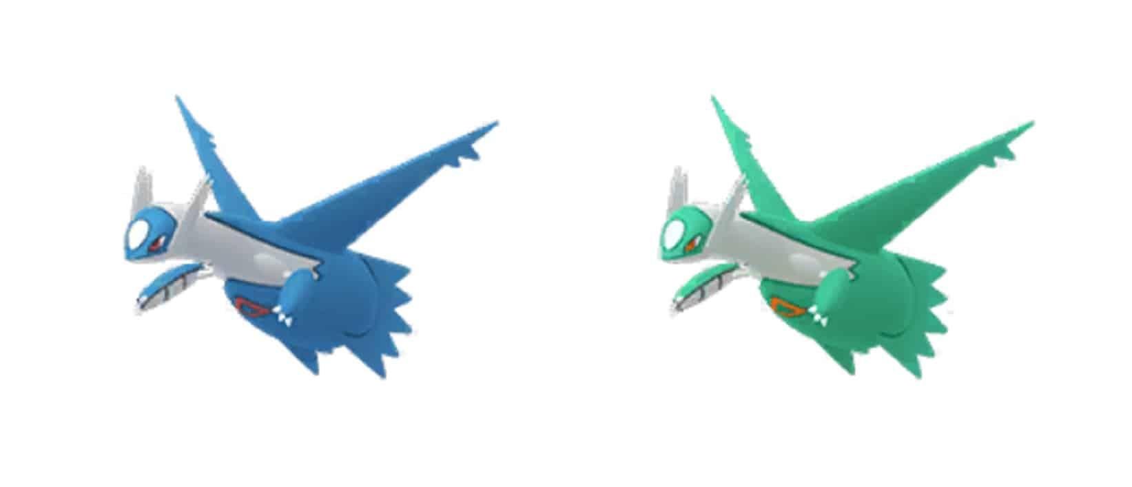 pokemon go seeings new shiny latios return to raids