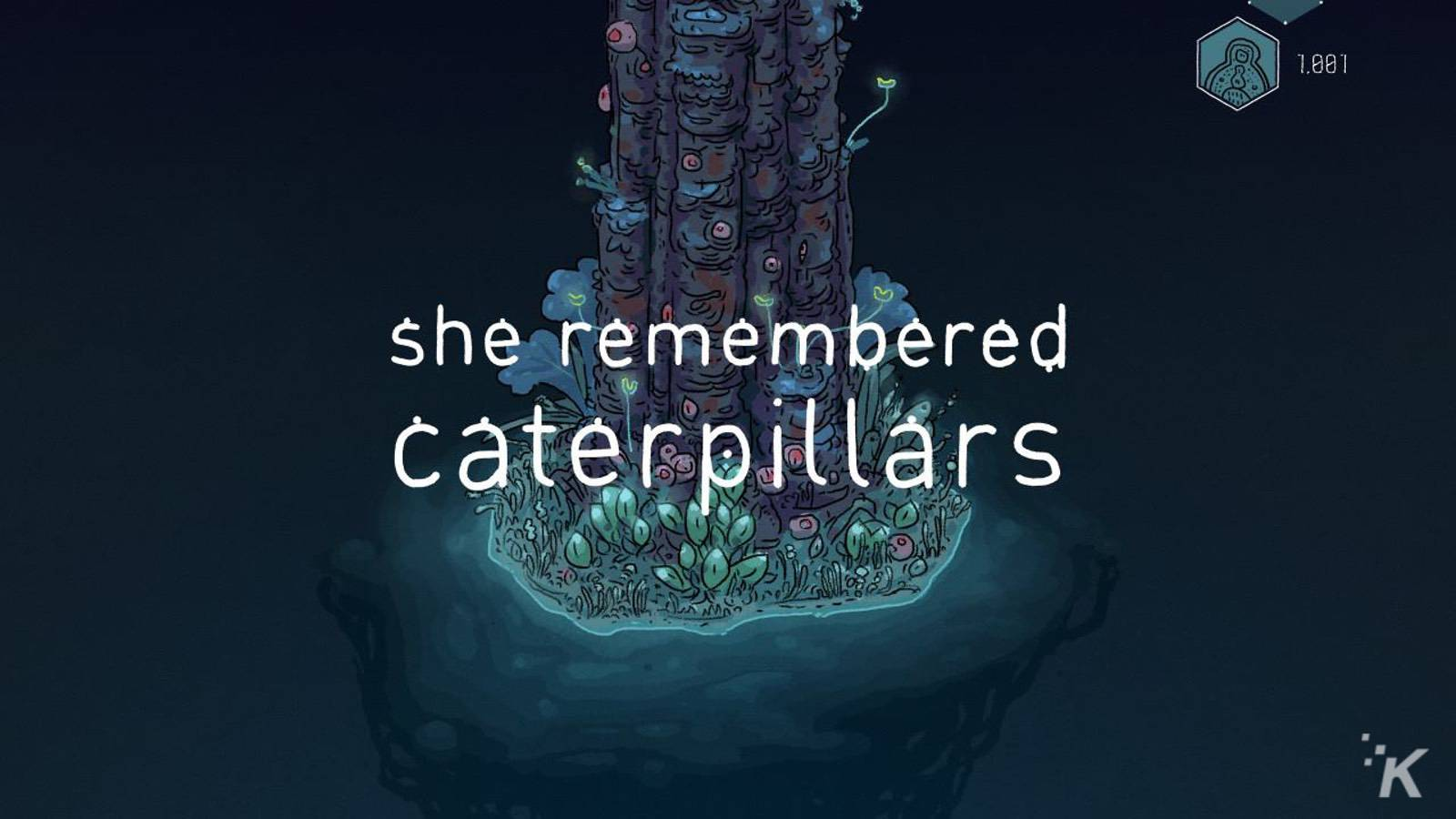 she remembered caterpillars nintendo switch