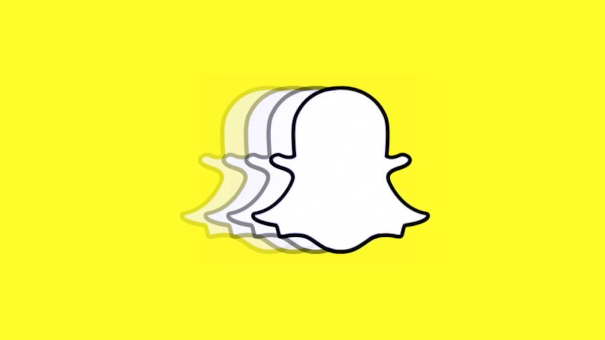 snapchat android update showing snapchat logo