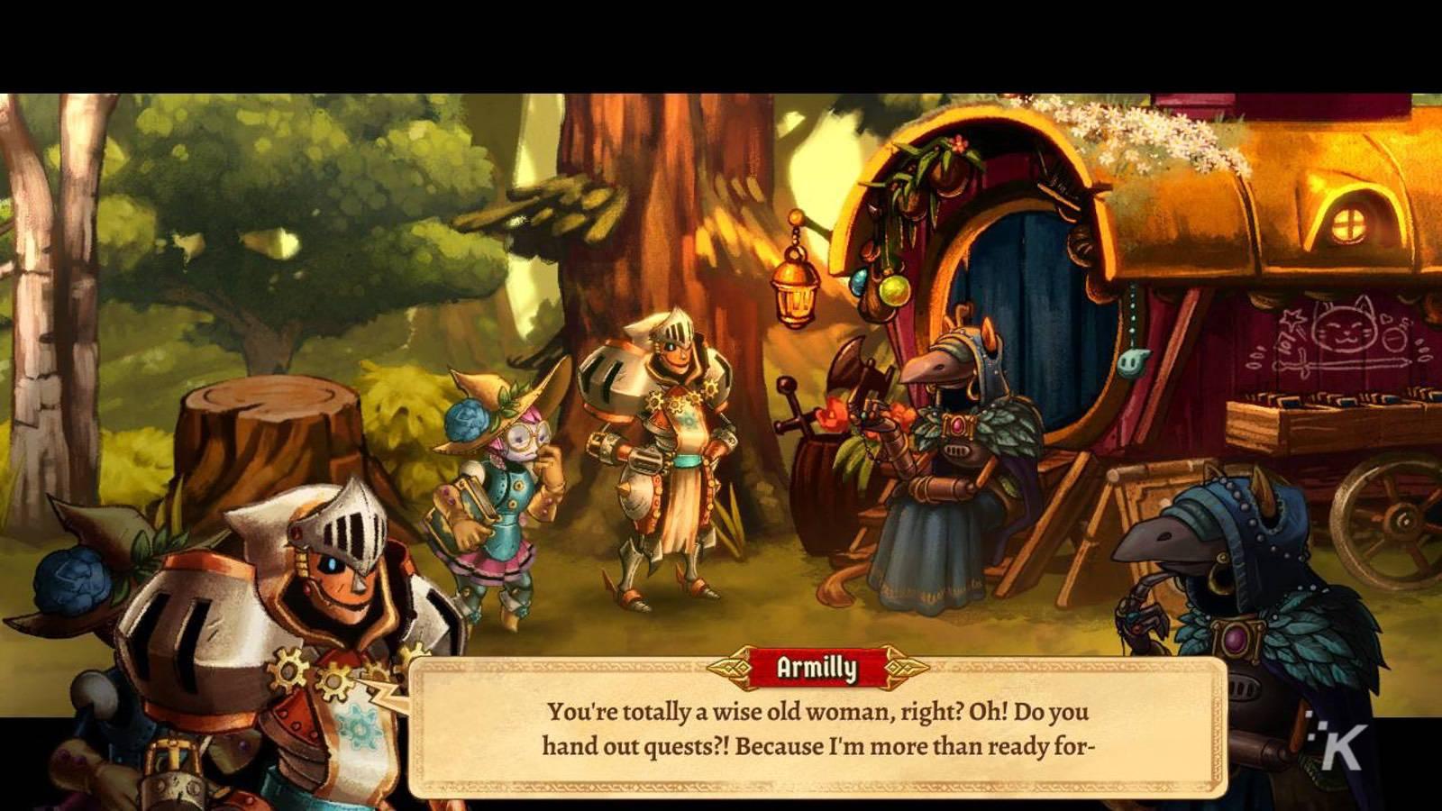 steamworld quest hand of gilgamech review