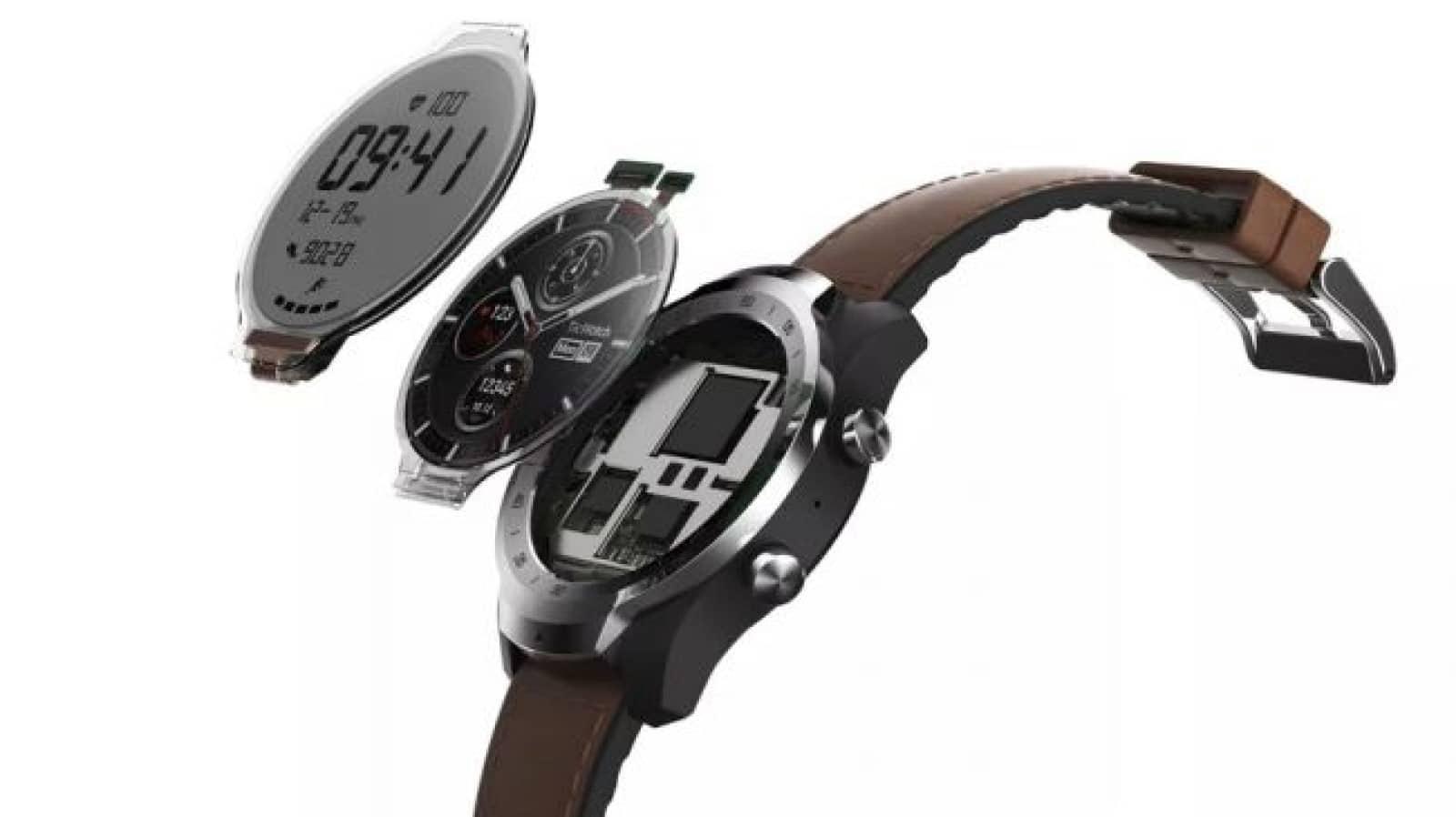 ticwatch broken down