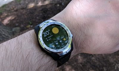 ticwatch pro on wrist