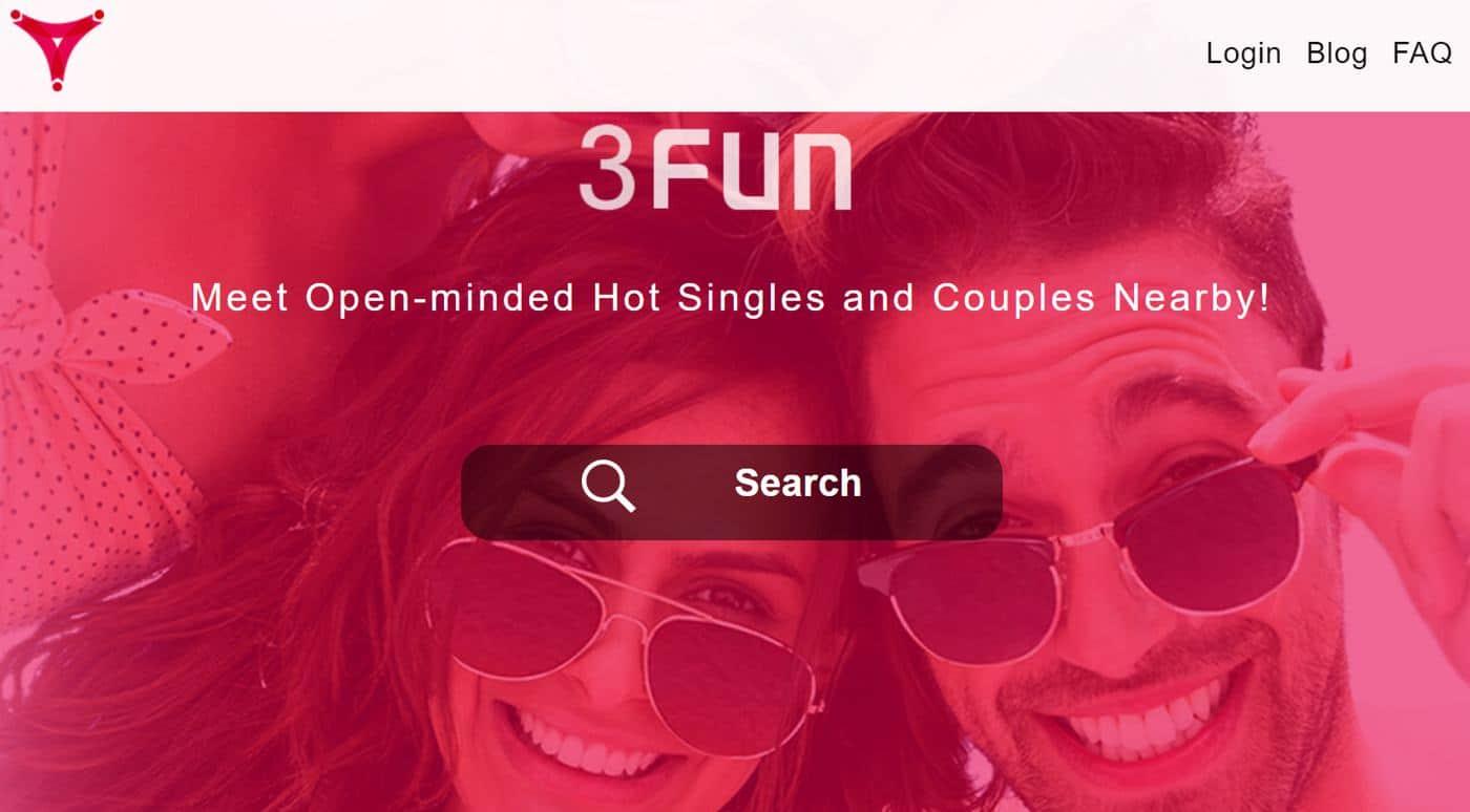 3fun app homepage