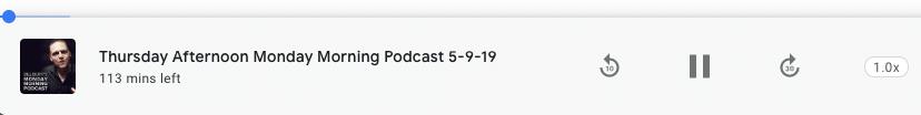 bill burr podcast media player in google search