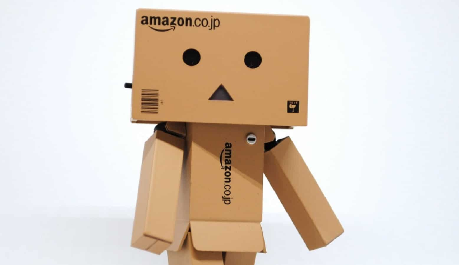 amazon cardboard robot
