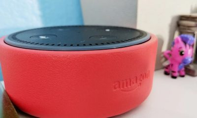 amazon echo dot kids edition on table with toys