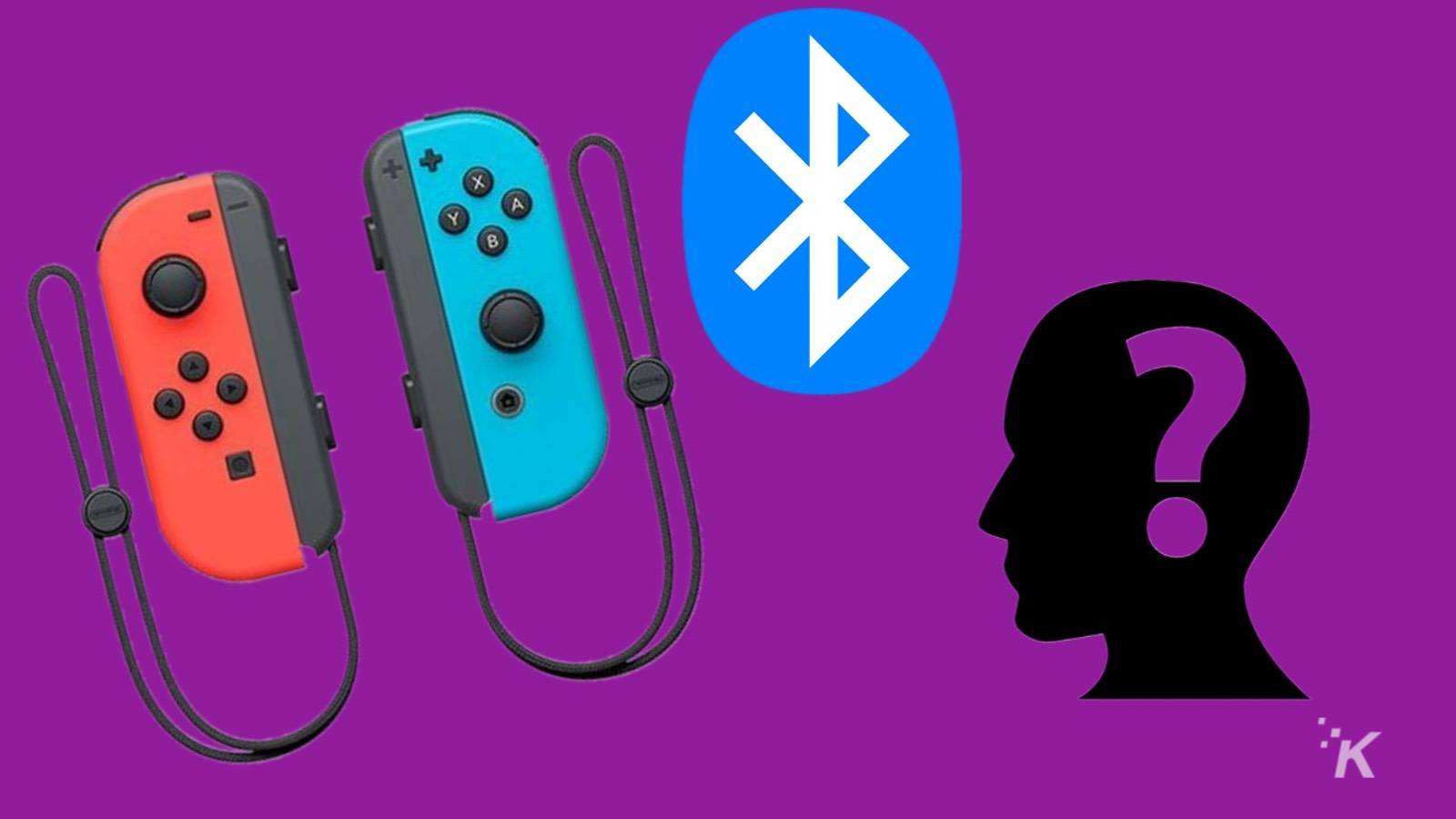 are nintendo switch joy-con controllers bluetooth?