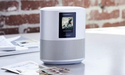 bose smart speaker on table