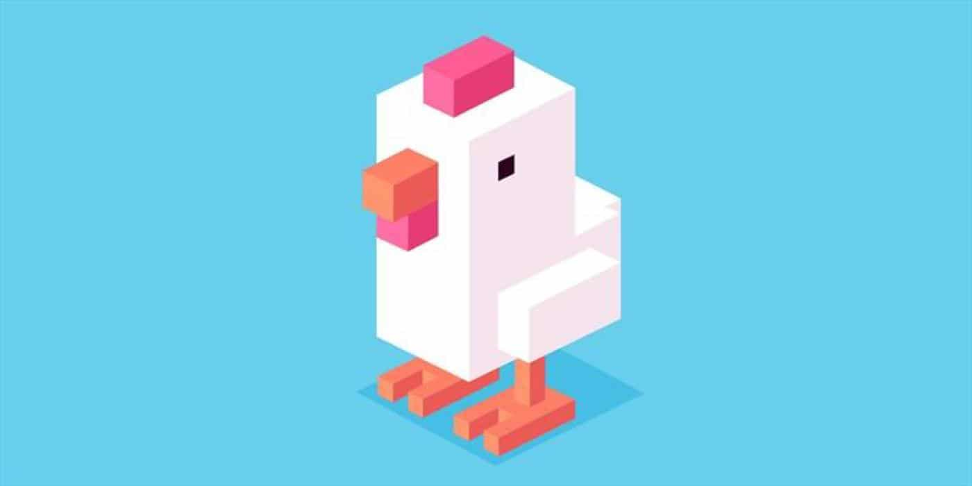 crossy road game duck