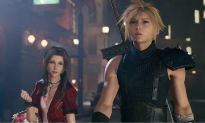 final fantasy vii with cloud and aerith