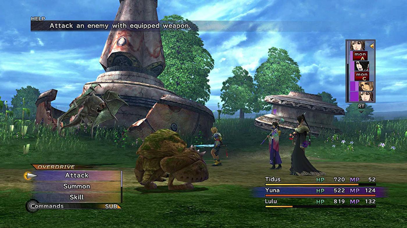 final fantasy x x2 remaster nintendo switch