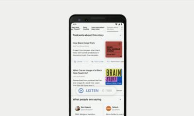 google i/o search podcasts