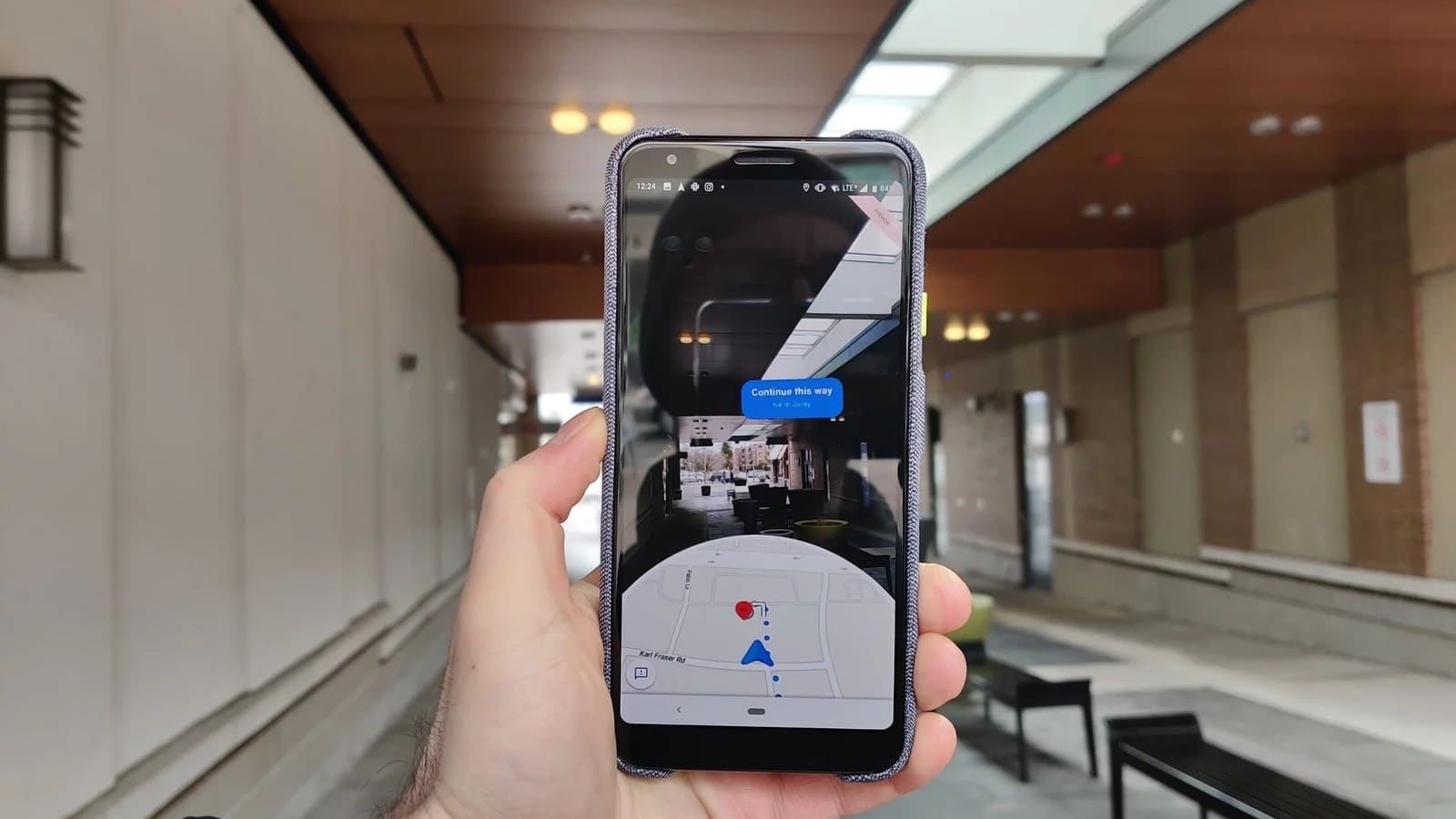 google maps ar preview