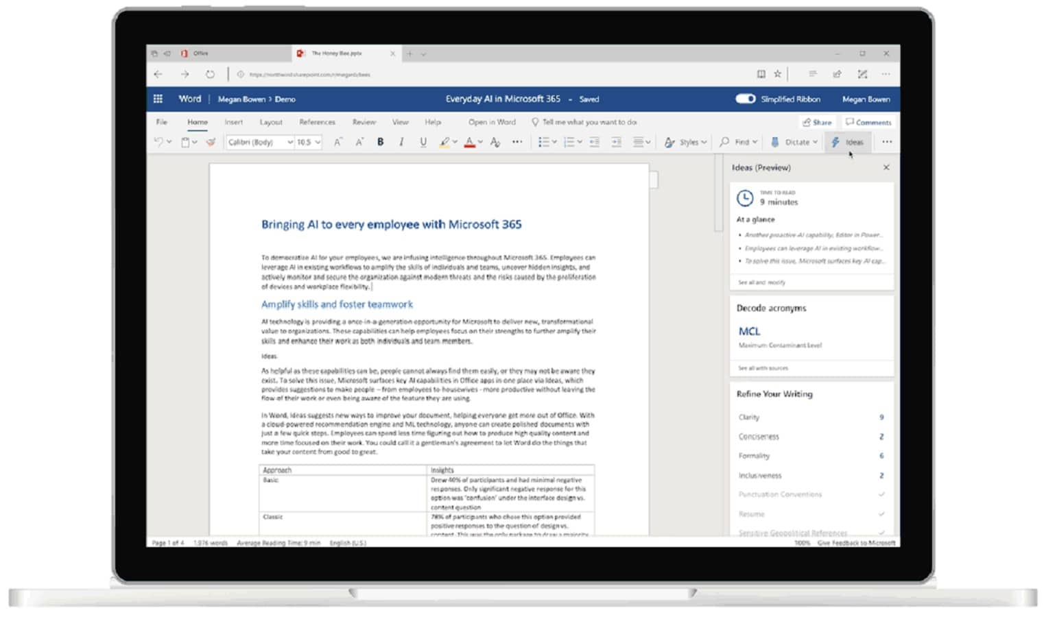 Microsoft takes on Grammarly with AI-based grammar