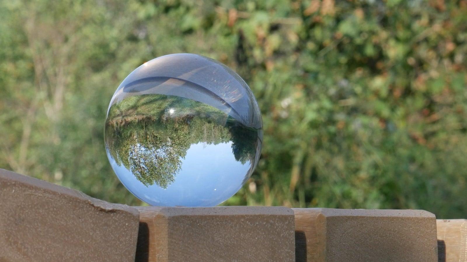 photography mirror ball
