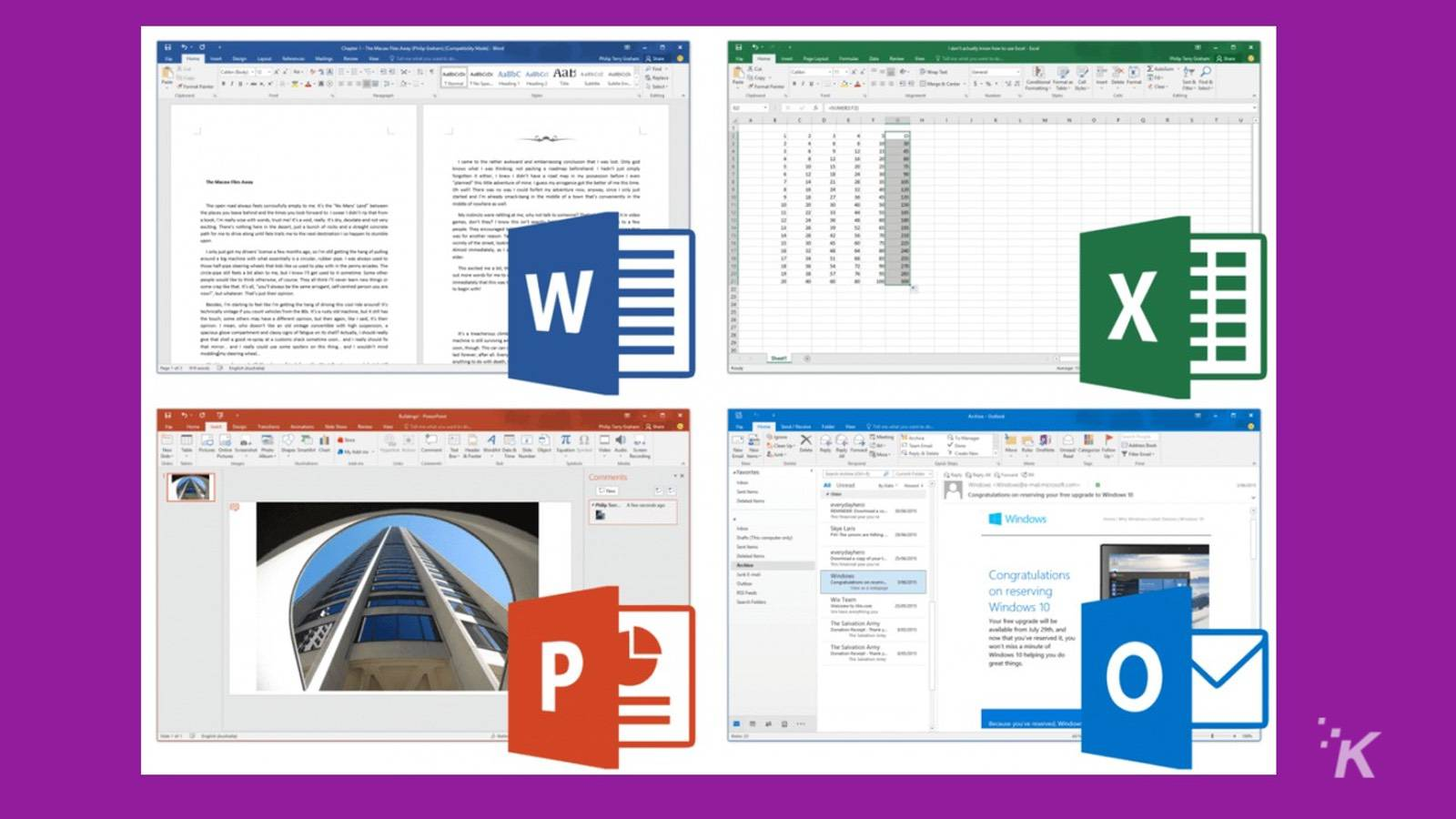 Reasons for upgrading to Microsoft Office 2016 - KnowTechie