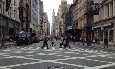 new york city nyc crosswalk