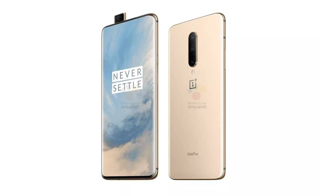 oneplus 7 pro front and back with camera