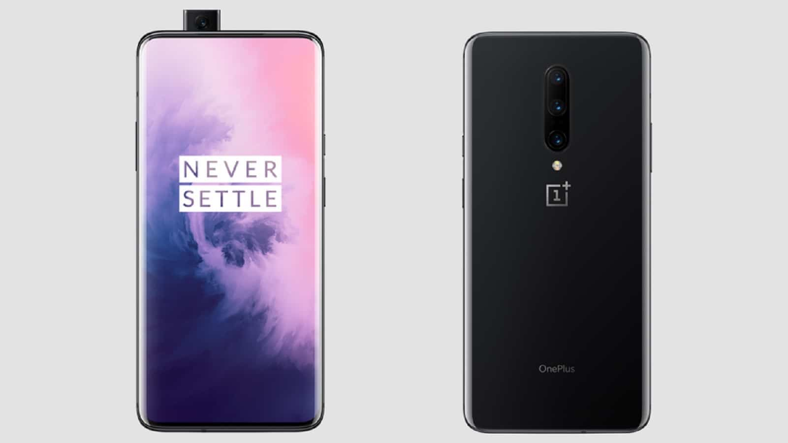 oneplus 7 pro front and back