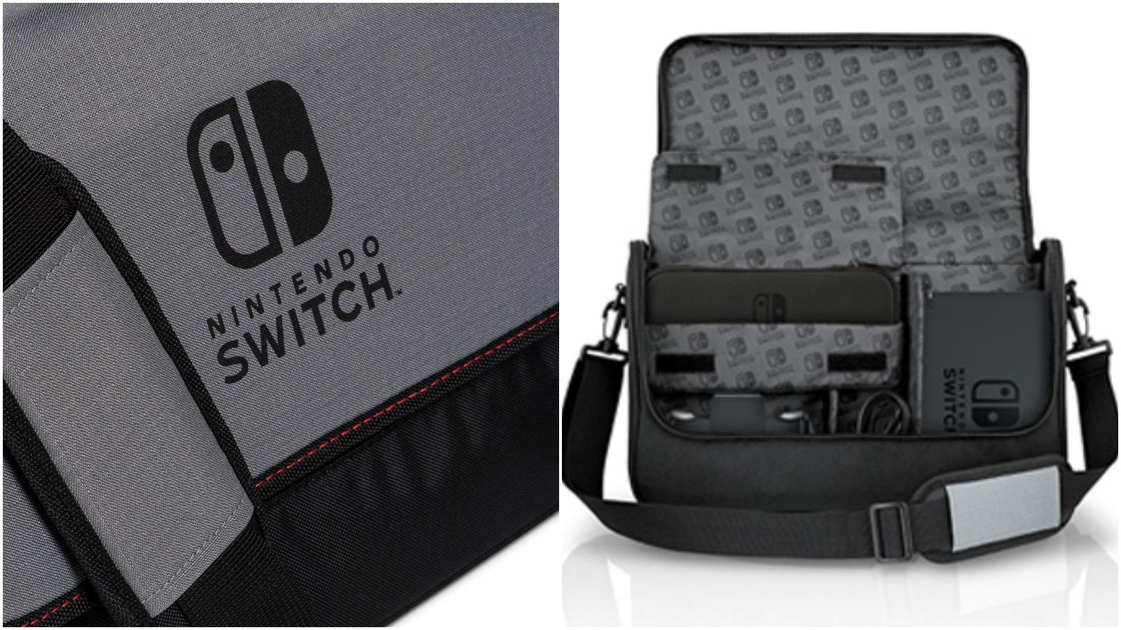 powera everywhere messenger bag for nintendo switch