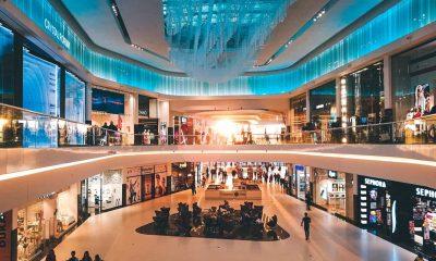retailers in a fancy mall