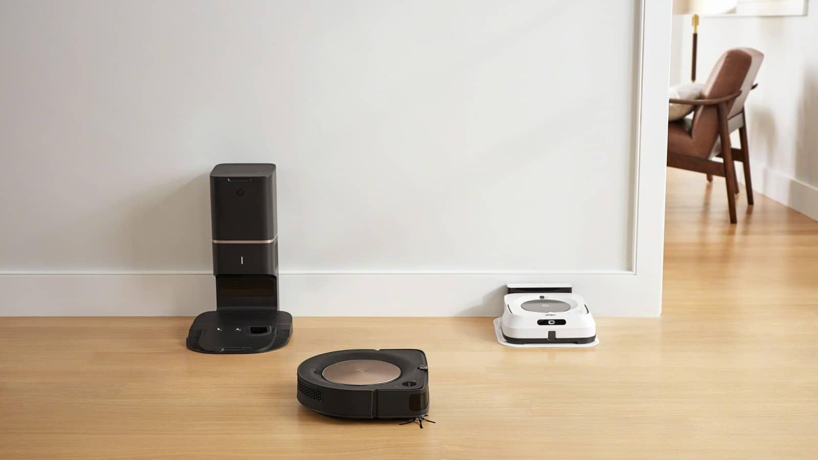 irobot roomba s9 plus robot vacuum and braava m6 robot mop
