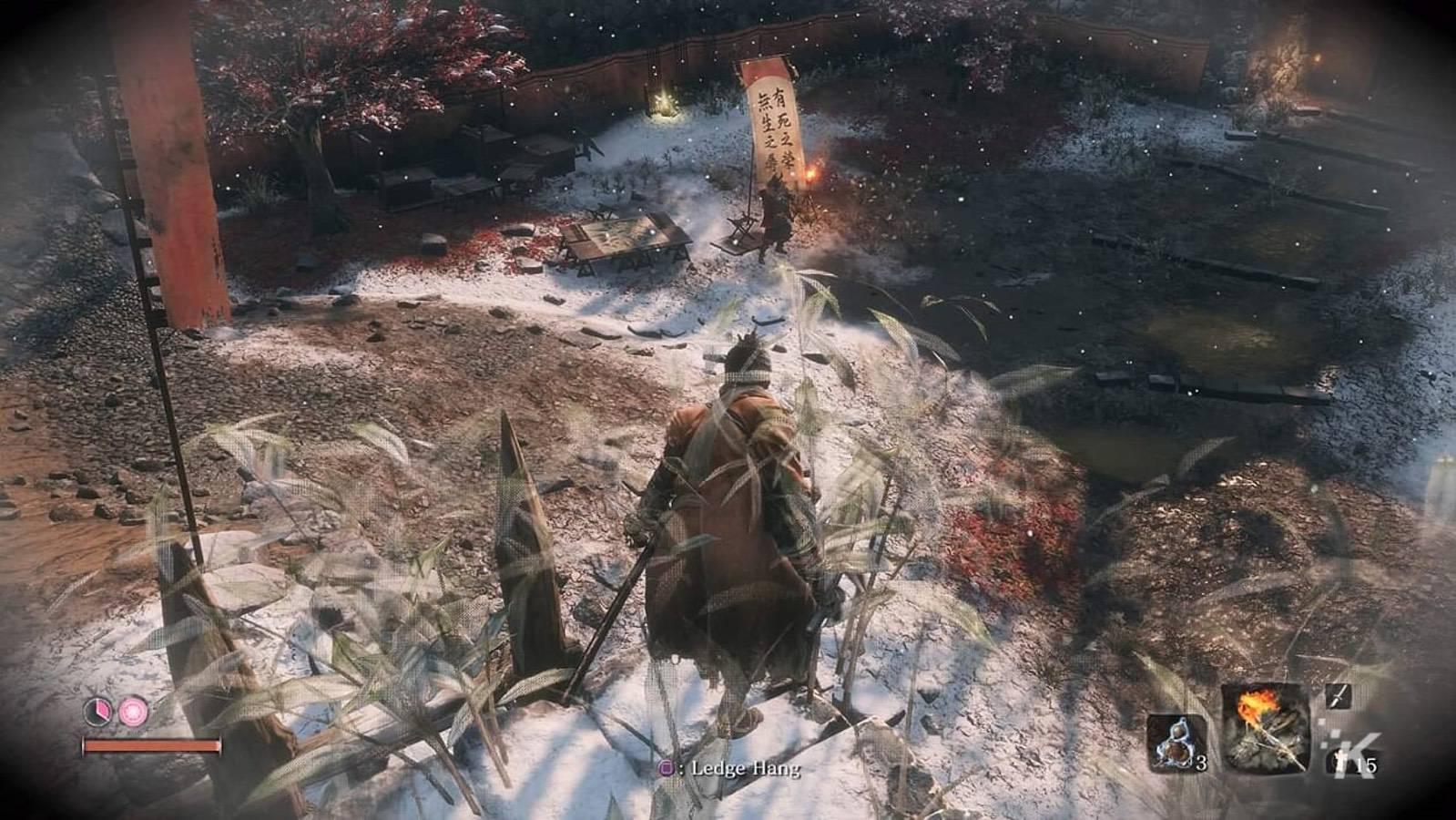 sekiro shadows die twice gameplay