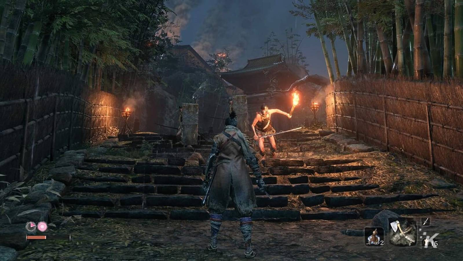 gameplay on steps
