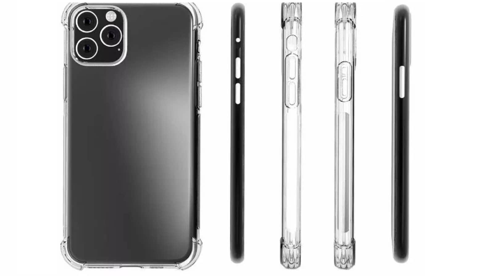 2019 apple iphone camera bump case render
