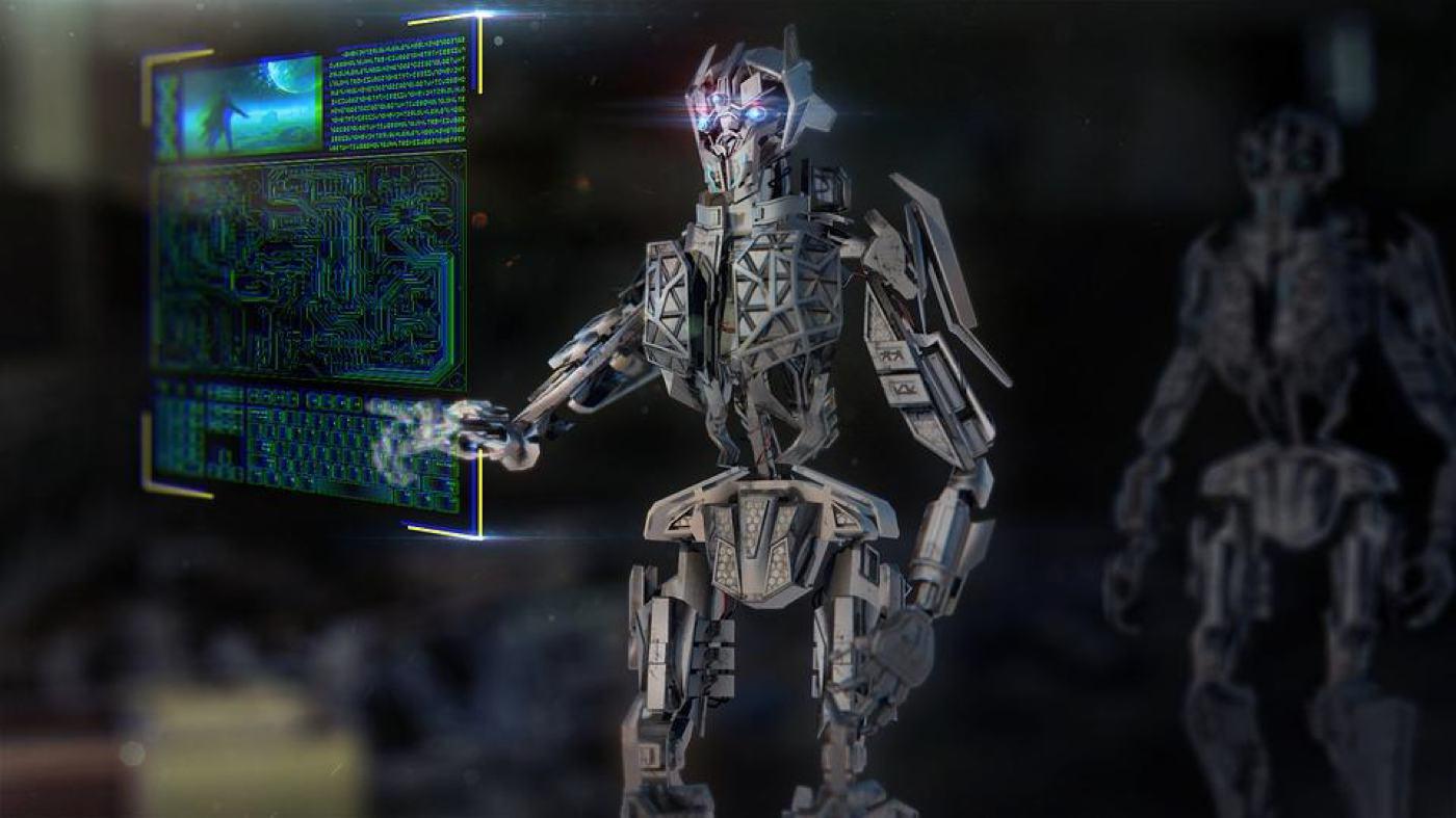 smart locker robot