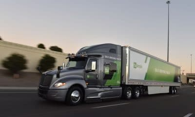 self driving semi truck from tusimple
