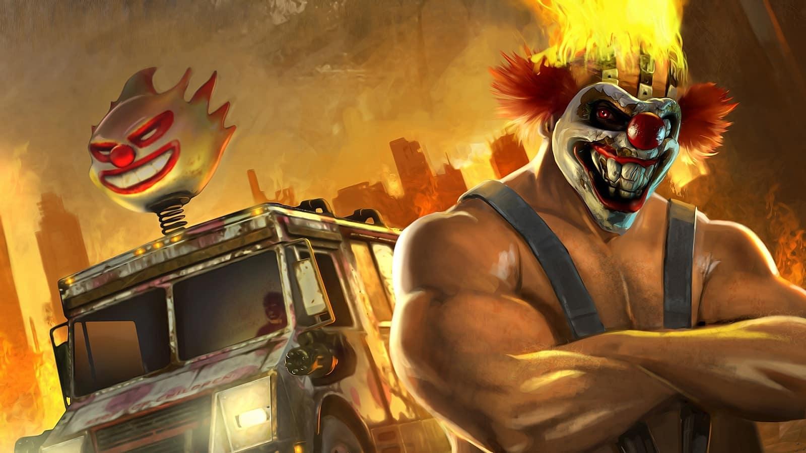 twisted metal clown